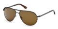 Tom Ford Sunglasses FT0144 09J Matte Gunmetal  58-13-140
