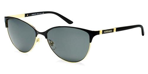 13c8b3c80d6d Versace Sunglasses VE 2148 100287 Gold 57-14-140 - Elite Eyewear Studio