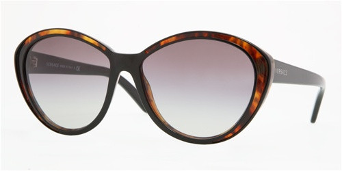 f729e4fb8cec Versace Sunglasses VE 4203 913/11 Black/Havana 57-135. Image 1. Loading zoom