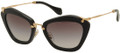 MIU MIU Sunglasses MU 10NS 1AB3M1 Blk 55MM