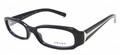 Prada PR05LV eyeglasses 1AB1O1 Blk 51mm