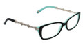 TIFFANY TF 2050B Eyeglasses 8055 Black 54-15-135