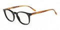 Giorgio Armani AR7074 Eyeglasses 5712 Black/Brown Striped 48mm