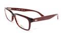 LACOSTE Eyeglasses L2672 615 Red Havana 54MM