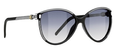 Balenciaga 0104 Sunglasses 0OVFLF Blk Wht