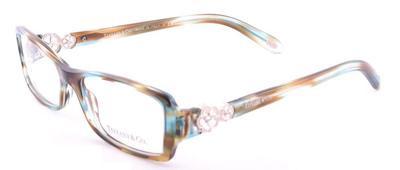 4ff2e10ef3f1 TIFFANY TF 2048B Eyeglasses 8124 Ocean Turq 53-16-135. Image 1. Loading zoom