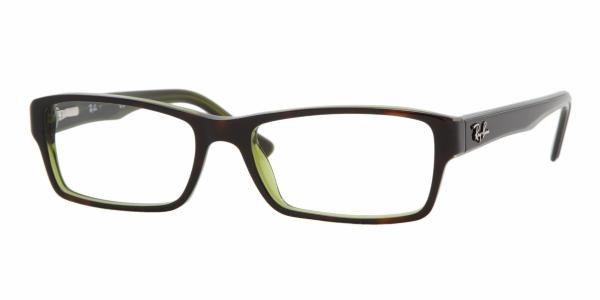 129fbadb24 Ray Ban RX5169 Eyeglasses 2383 TOP HAVANA ON Grn (5216) - Elite ...