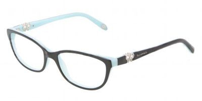be04c9f247 TIFFANY TF 2051B Eyeglasses 8055 Blk Blue 51-16-135. Image 1. Loading zoom