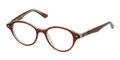 Ray Ban RB 5257 Eyeglasses 5112 Red Transp 47-18-140