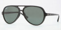 Ray Ban RB4125F Sunglasses 901/71 Blk