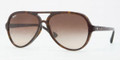 Ray Ban RB4125F Sunglasses 902/13 DARK HAVANA