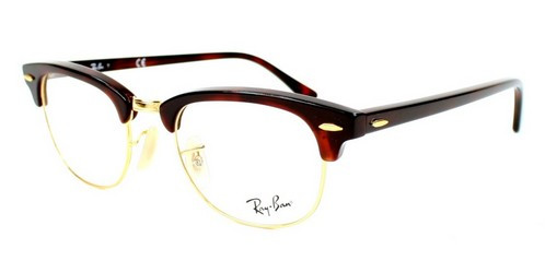 312d2aed321 Ray Ban RX5154 Eyeglasses 2372 RED HAVANA (4921) - Elite Eyewear Studio