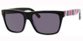 JIMMY CHOO ALEX/S Sunglasses 0LNR Blk Union 55-17-140