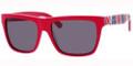 JIMMY CHOO ALEX/S Sunglasses 0LL9 Red Union 55-17-140
