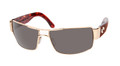 Costa Del Mar Drago Sunglasses DG 26 DGP  GOLD FRAME