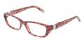 Tiffany & Co Eyeglasses TF 2069B 8146 Red Havana 51MM