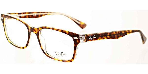 76bcbc297715e Ray Ban Eyeglasses RX 5286 5082 Top Havana On Transpar Demo Lens 53MM.  Image 1. Loading zoom