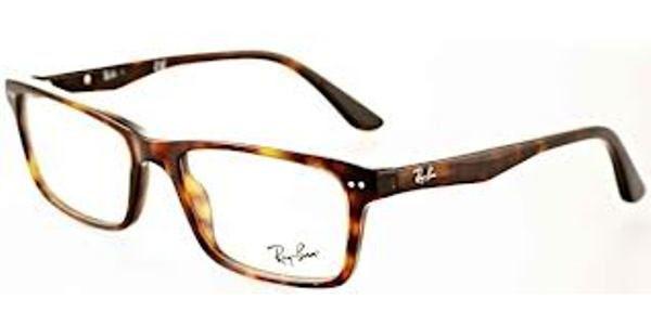 b22a4c1c2cbe7 Ray Ban Eyeglasses RX 5288 2012 Dark Havana Demo Lens 50MM - Elite ...