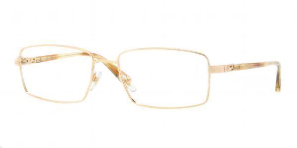 0945f18899 Versace Eyeglasses VE 1198 1002 Gold 53MM - Elite Eyewear Studio