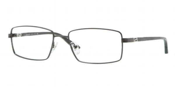5501f514ac Versace Eyeglasses VE 1198 1261 Matte Blk 55MM - Elite Eyewear Studio