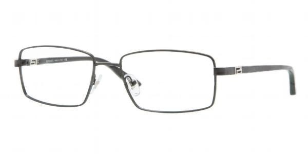 30e4dbfaf134 Versace Eyeglasses VE 1198 1261 Matte Blk 55MM - Elite Eyewear Studio