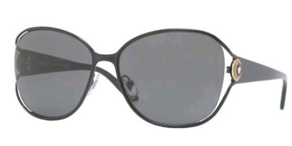 4c4ea4ee7bc8c Versace Sunglasses VE 2137 100987 Blk 58MM - Elite Eyewear Studio