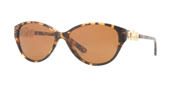 000d04820a5 Versace Sunglasses VE 4245 998 73 Amber Havana 53MM. Image 1. Loading zoom