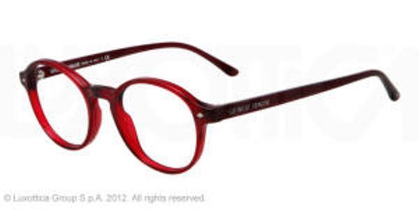 4ad070e6d04 Giorgio Armani Eyeglasses AR 7004 5014 Matte Red Transp 49MM - Elite ...