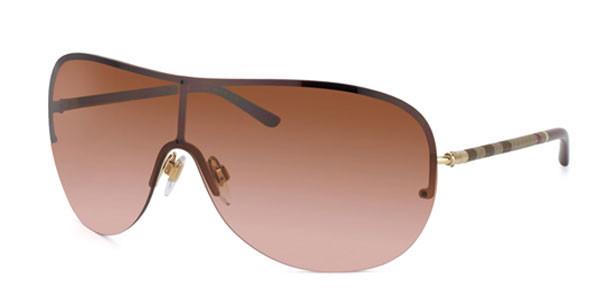 391e7ba92b5a Burberry Sunglasses BE 3063 114513 Pale Gold 1MM - Elite Eyewear Studio