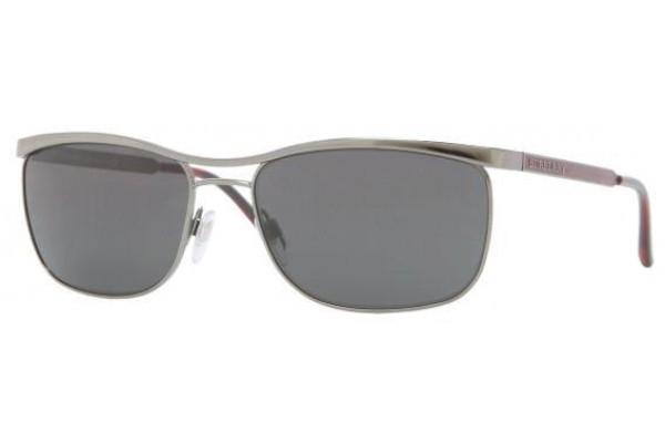 af9ff64e12c3 Burberry Sunglasses BE 3065 100387 Gunmtl 58MM - Elite Eyewear Studio