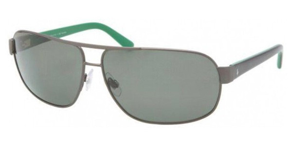 5852390f8a Polo Sunglasses PH 3066 92029A Brushed Dark Gunmtl 66MM. Image 1. Loading  zoom