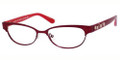 Marc by Marc Jacobs Eyeglasses 528 0JL4 Red Fushia Orange 52MM