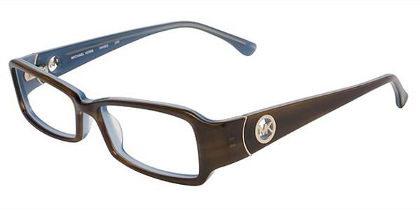 a3de889c81 Michael Kors Eyeglasses MK693 200 Dark Br 53mm - Elite Eyewear Studio