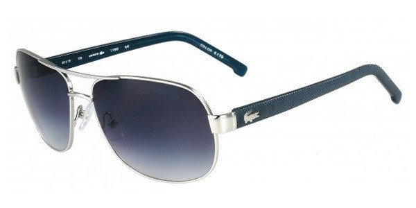 d626db6c32 Lacoste Sunglasses L138S 045 Dark Slv 60MM - Elite Eyewear Studio