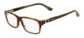 Salvatore Ferragamo Eyeglasses SF2608 217 Br Horn 55MM