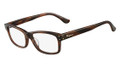 Salvatore Ferragamo Eyeglasses SF2646 217 Br Horn 55MM