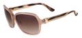 Salvatore Ferragamo Sunglasses SF606S 290 Nude 58MM