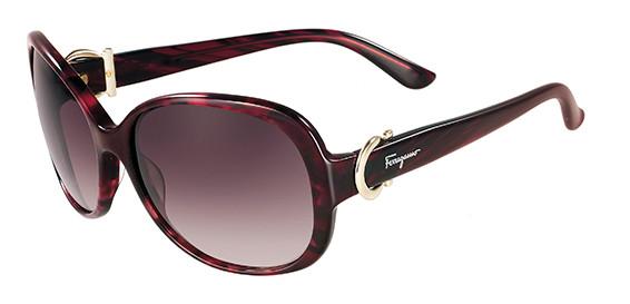 3716cc0968 Salvatore Ferragamo Sunglasses SF613S 609 Red Havana 59MM. Image 1. Loading  zoom