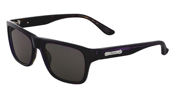 f175243680 Salvatore Ferragamo Sunglasses SF616S 541 Purple Havana 54MM. Image 1.  Loading zoom