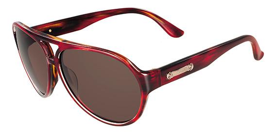 8d81e1286f Salvatore Ferragamo Sunglasses SF619S 609 Red Havana 59MM. Image 1. Loading  zoom