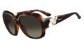 Salvatore Ferragamo Sunglasses SF641SR 214 Tort 59MM