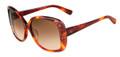 Valentino Sunglasses V618S 725 Blonde Havana 56MM