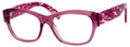 Christian Dior Eyeglasses 3252 0306 Transp Fuchsia Tweed 51MM