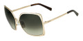 Fendi Sunglasses 5226 714 Shiny Gold 60MM