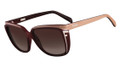 Fendi Sunglasses 5282 615 Red/Powder 58MM