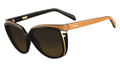 Fendi Sunglasses 5283 002 Classic Blk & Br 57MM