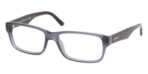 654c33f97a53 PRADA Eyeglasses PR 16MV PD61O1 Denim 55MM - Elite Eyewear Studio