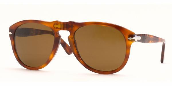 37c866ac2e PERSOL Sunglasses PO 649 96 33 Light Havana 52MM - Elite Eyewear Studio