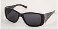 MIU MIU 05GS Sunglasses 1AB1A1  Blk STRIATED