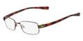 NIKE Eyeglasses 8094 240 Walnut Tort 52MM